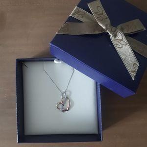 Ben Moss heart pendant necklace